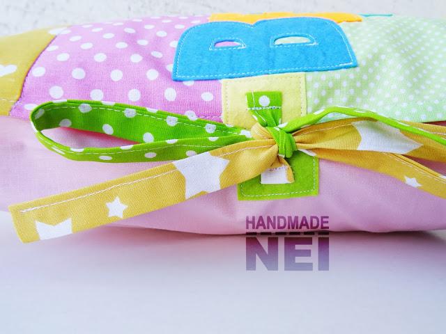 """Пачуърк калъфка за възглавница """"Велислава"""" - Handmade Nel"""