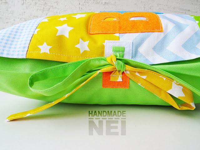 """Пачуърк калъфка за възглавница """"Велизар"""" - Handmade Nel"""