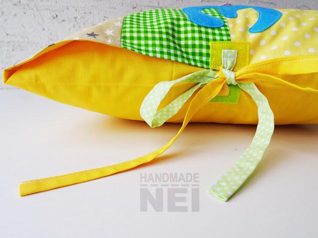"""Пачуърк калъфка за възглавница """"Зара"""" - Handmade Nel"""