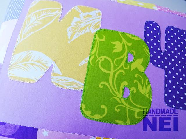 """Пачуърк калъфка за възглавница """"Ивче"""" - Handmade Nel"""