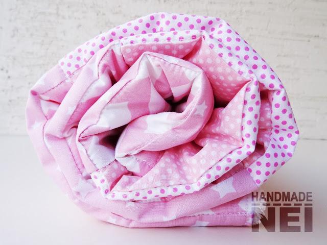 "Пачуърк одеяло с полар за бебе ""Ева"" - Handmade Nel"