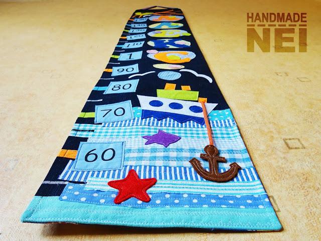 "Метър за дете ""Алекс"" - Handmade Nel"