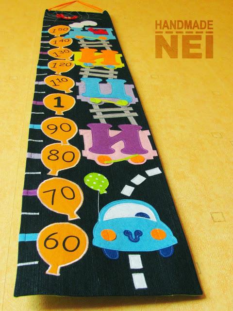"""Метър за дете """"Ици"""" - Handmade Nel"""