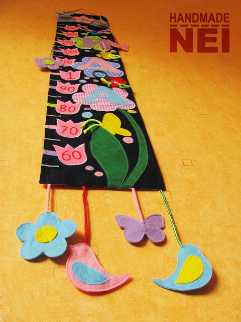 "Метър за дете ""Ида"" - Handmade Nel"