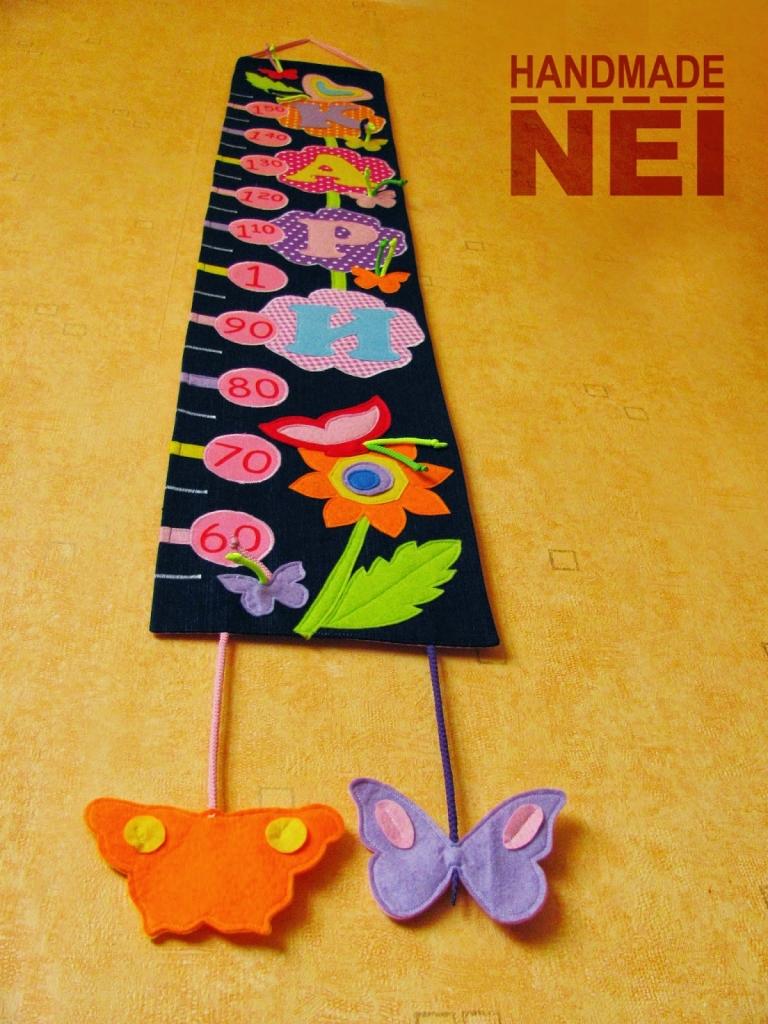"""Метър за дете """"Кари"""" - Handmade Nel"""