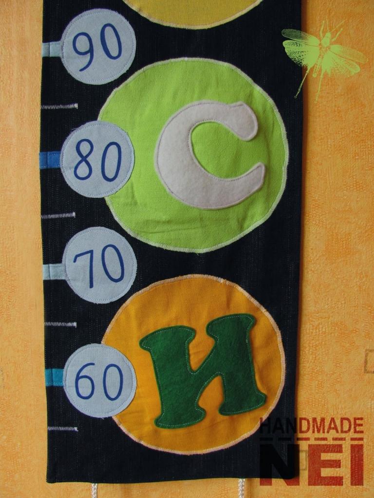 "Метър за дете ""Криси"" - Handmade Nel"