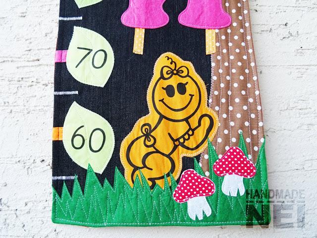 "Метър за дете ""Биби"" - Handmade Nel"