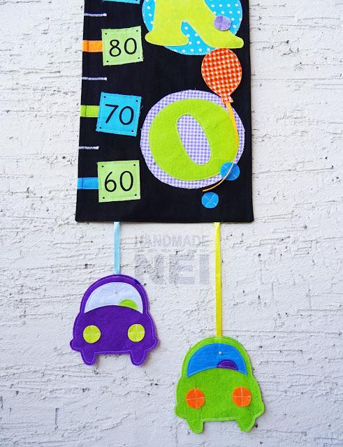 """Метър за дете """"Роско"""" - Handmade Nel"""