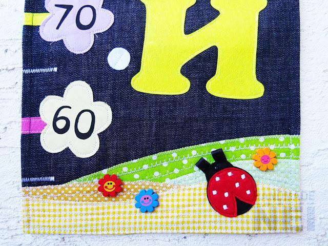 "Метър за дете ""Софи и Ейми"" - Handmade Nel"