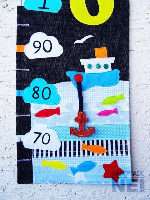 """Метър за дете """"Викторио"""" - Handmade Nel"""
