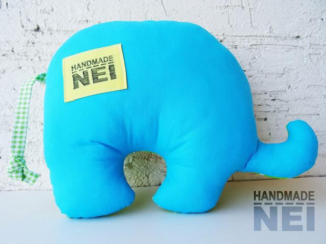 """Играчка слонче """"Филип"""" - Handmade Nel"""