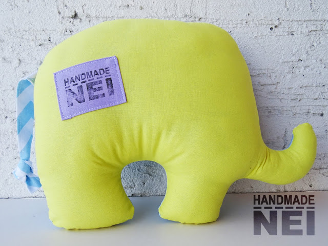 "Играчка слонче ""Симеон"" - Handmade Nel"