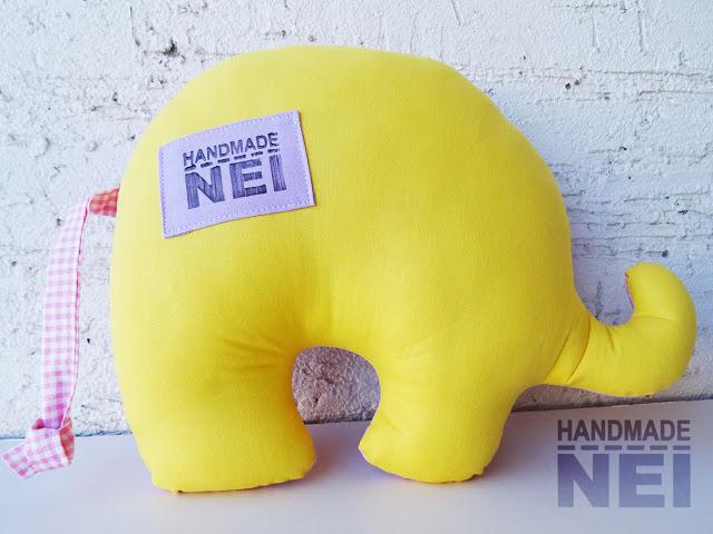 """Играчка слонче """"Маги"""" - Handmade Nel"""