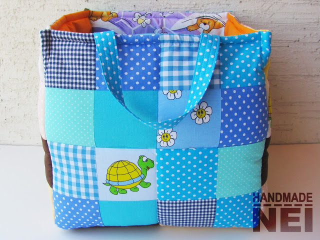 """Кош за играчки от плат """"Мо"""" - Handmade Nel"""