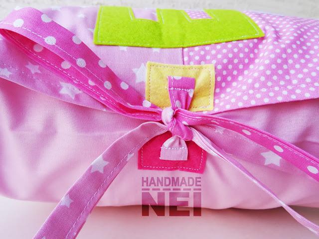 """Пачуърк калъфка за възглавница """"Елена""""2 - Handmade Nel"""