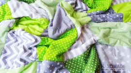 "Пачуърк одеяло с полар за бебе ""Максим"""