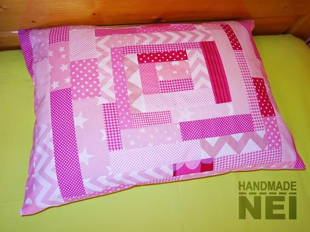"""Пачуърк калъфка за възглавница """"Сладко"""" - Handmade Nel"""