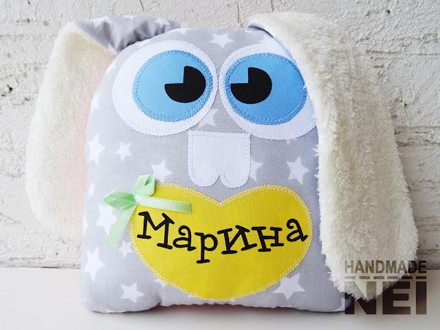 """Играчка зайче """"Марина"""" - Handmade Nel"""
