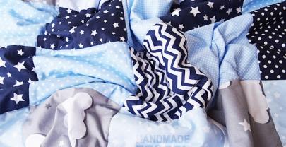 "Пачуърк одеяло с полар за бебе ""Адриан"""