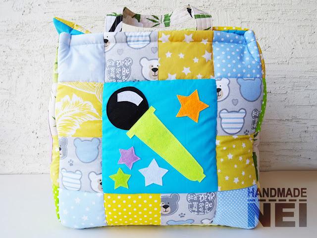 """Кош за играчки от плат """"Мони"""" - Handmade Nel"""
