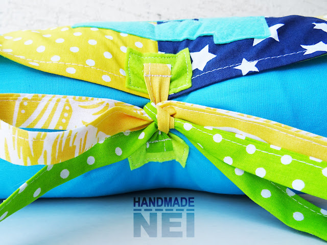 """Пачуърк калъфка за възглавница """"Дани"""" - Handmade Nel"""