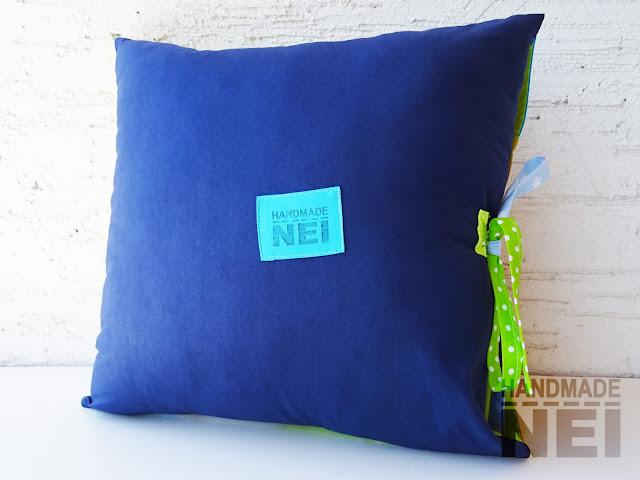 """Пачуърк калъфка за възглавница """"Фин"""" - Handmade Nel"""