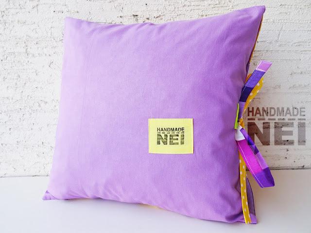 """Пачуърк калъфка за възглавница """"Габи""""2 - Handmade Nel"""