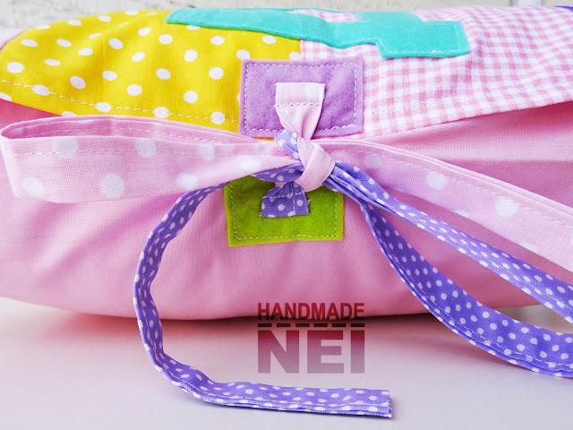 """Пачуърк калъфка за възглавница """"Дария""""2 - Handmade Nel"""