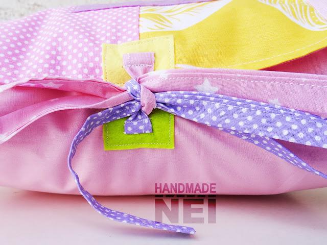 """Пачуърк калъфка за възглавница """"Ева"""" - Handmade Nel"""