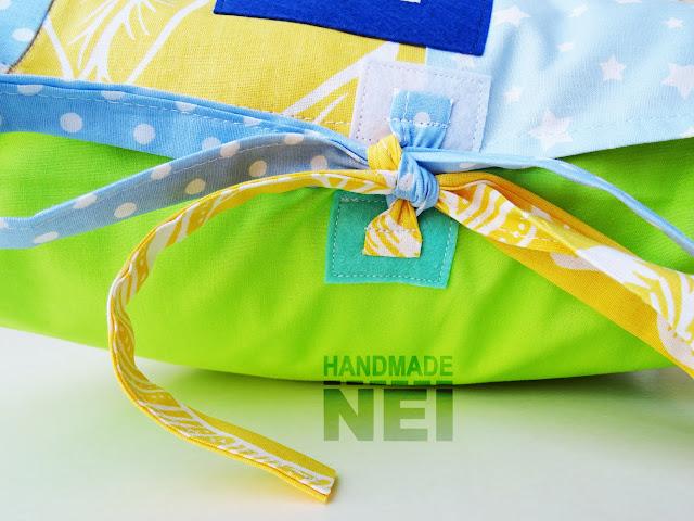 """Пачуърк калъфка за възглавница """"Цветан"""" - Handmade Nel"""